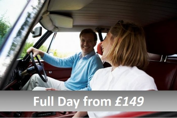 Full day classic car tours from £259