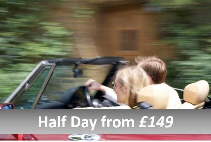 Classic car half day tours from £149