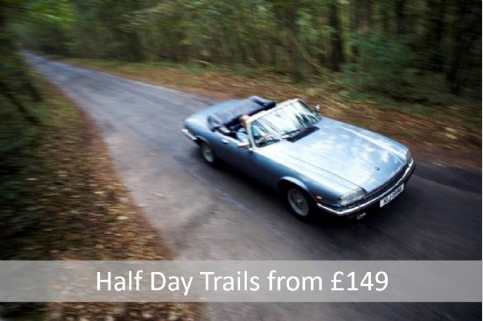 Half Day classic car driving trails in your choice of classic car through the Cotwolds and Malverns