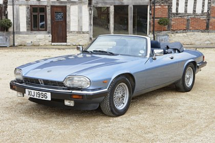 Jaguar XJS convertible for hire