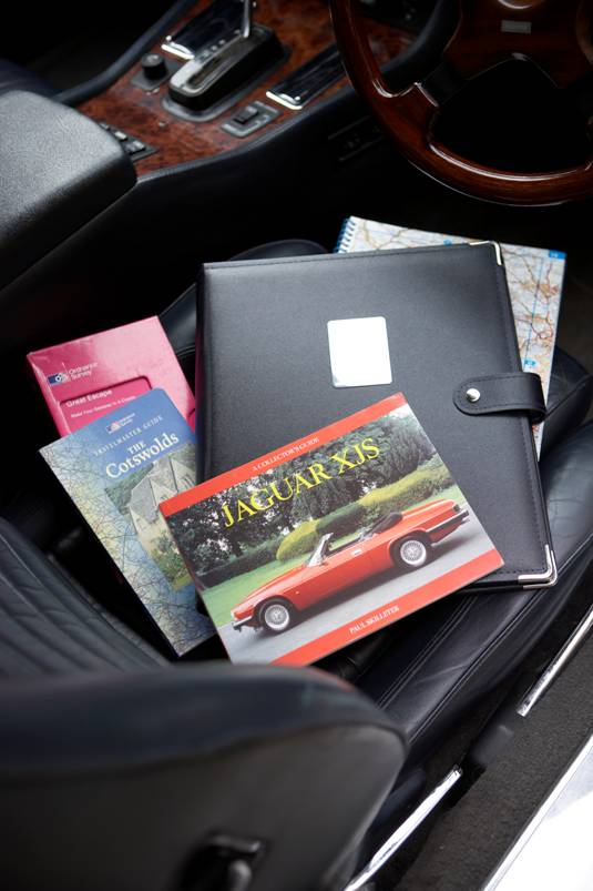 Great Escape Classic Car Hire in-car information pack