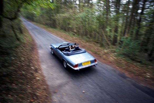 Great Escape Classic Car Hire Jaguar XJS convertible for self drive rental in the Cotswolds