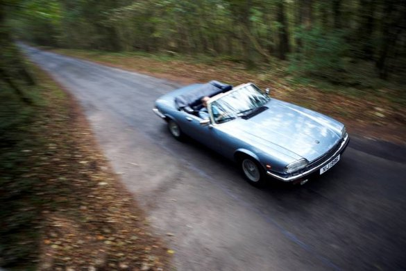 Drive a Jaguar XJS convertible on our British Motor Museum road trip