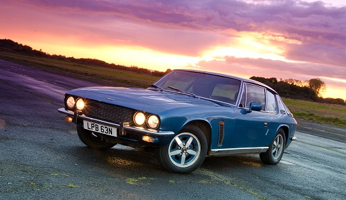Great Escape Cars Jensen Interceptor for hire in the Cotswolds