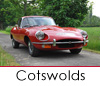 Classic car hire in the Cotswolds