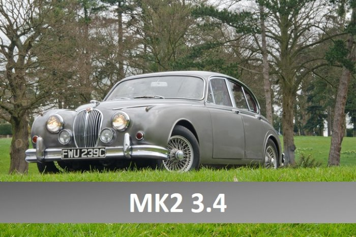 ... Jaguar Mk2 3.4 For Hire