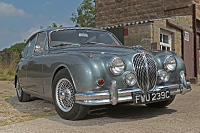 Hire a Jaguar Mk2 in the Cotswolds