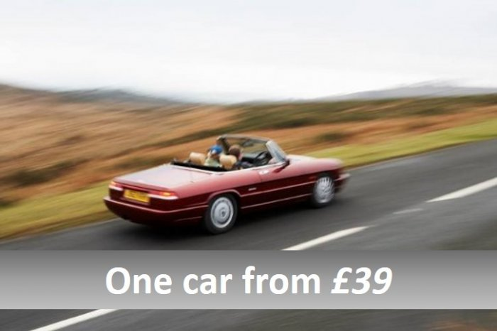 Classic Car Tasters - perfect gift for two from £39