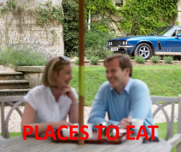 Places to eat in the Cotswolds and Worcestershire