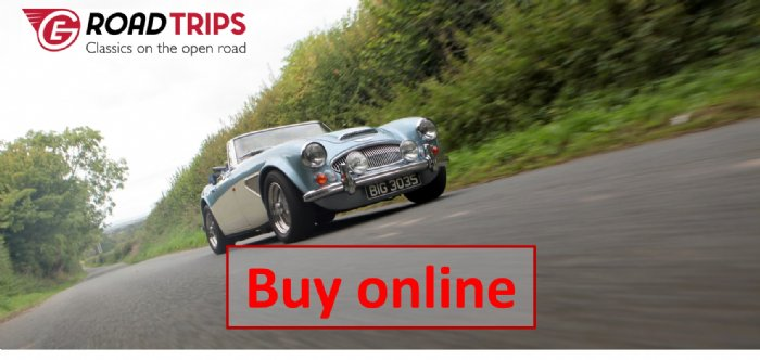 Safe and secure online shop for classic car road trips from Great Escape Car