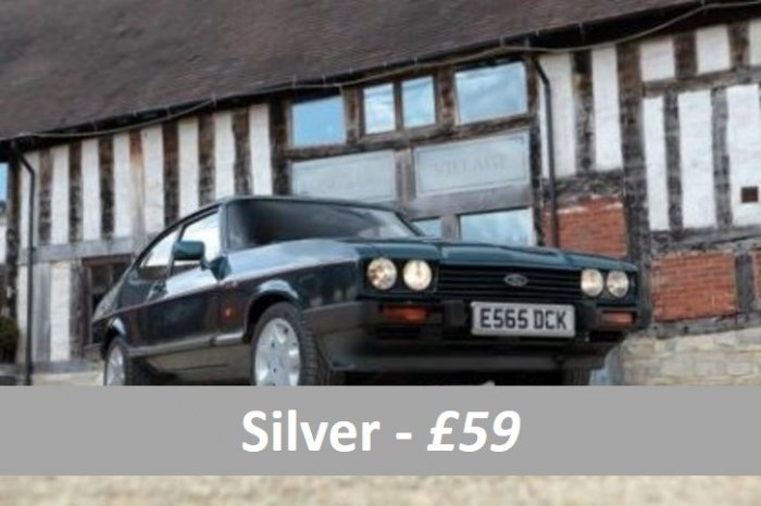 Classic car silver taster experiences for £59