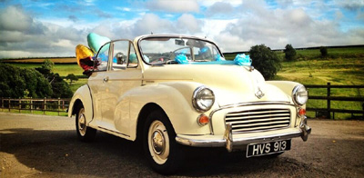 TV and film classic hire cars