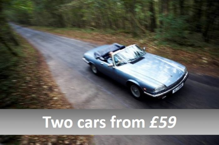 Two car driving experience from £59