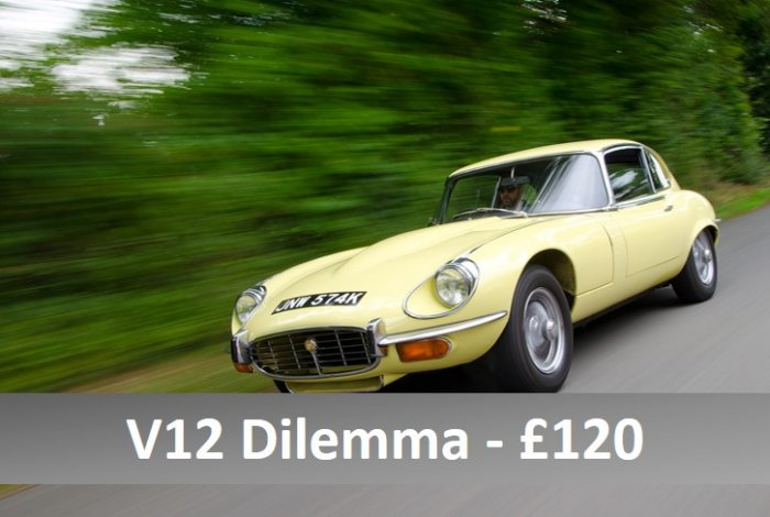 Two car driving experience in E Type V12 and XJS V12
