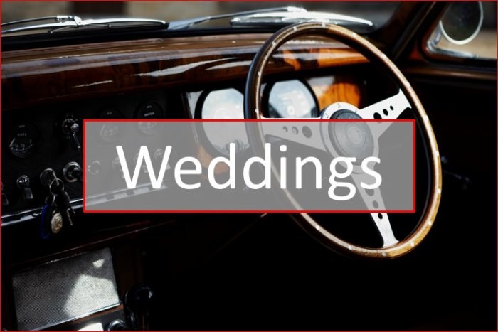 advice on self drive classic car hire for weddings