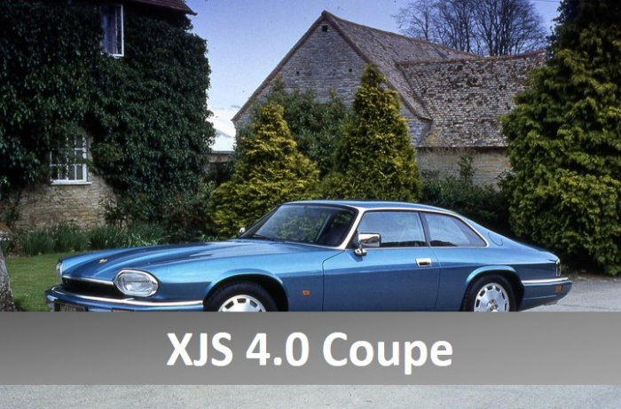 jaguar xjs coupe for hire in the Cotswolds