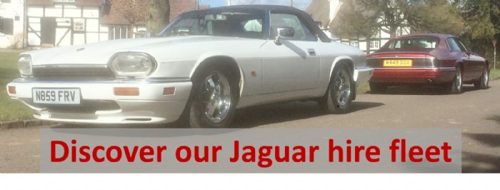 Discover the UK's largest classic Jaguar hire fleet