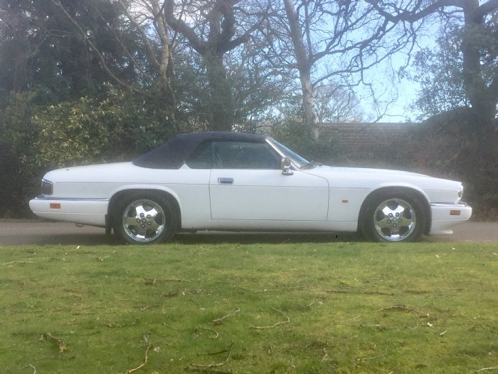 Great Escape Cars Jaguar XJS Celebration convertible for hire and driving experiences