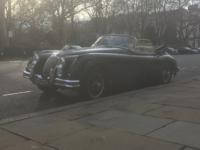Jaguar XK150 convertible to drive on classic taster and road trip experiences from Great Escape Car