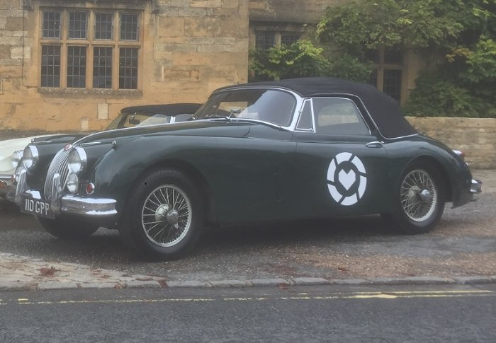 Jaguar XK150 convertible available for classic taster experiences