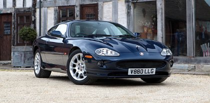 Great Escape Classic Car Hire 1988 Jaguar XKR supercharged for self drive rental for 30th birthday gift