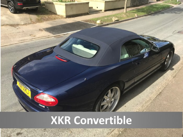 Jaguar XKR convertible for self drive hire in the Cotswolds from Great Escape Car