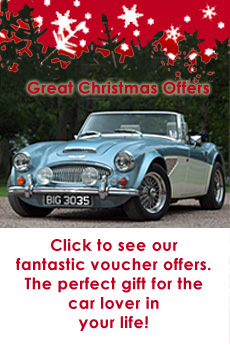 Great Escape Classic Car Hire Christmas gift ideas