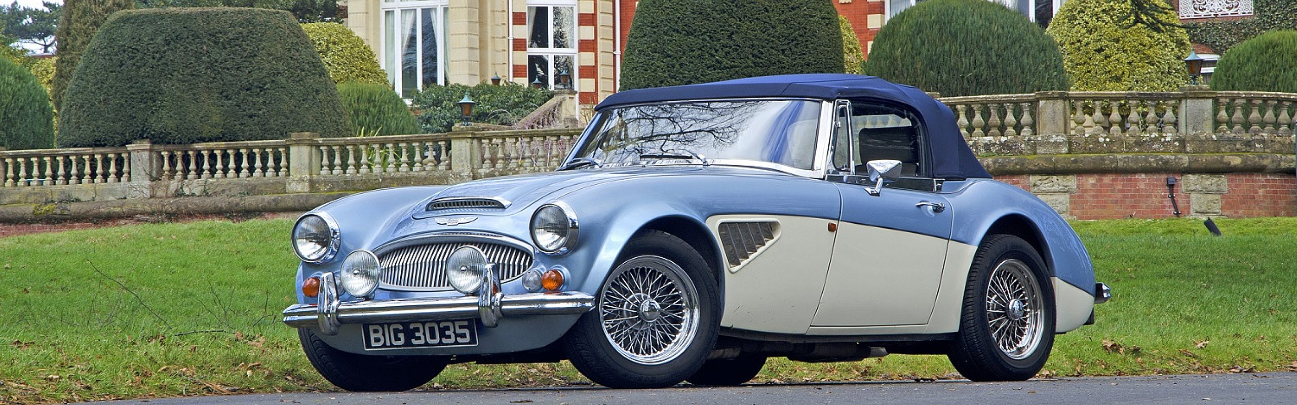 classic austin healey hire great escape classic cars great escape classic and vintage sports. Black Bedroom Furniture Sets. Home Design Ideas