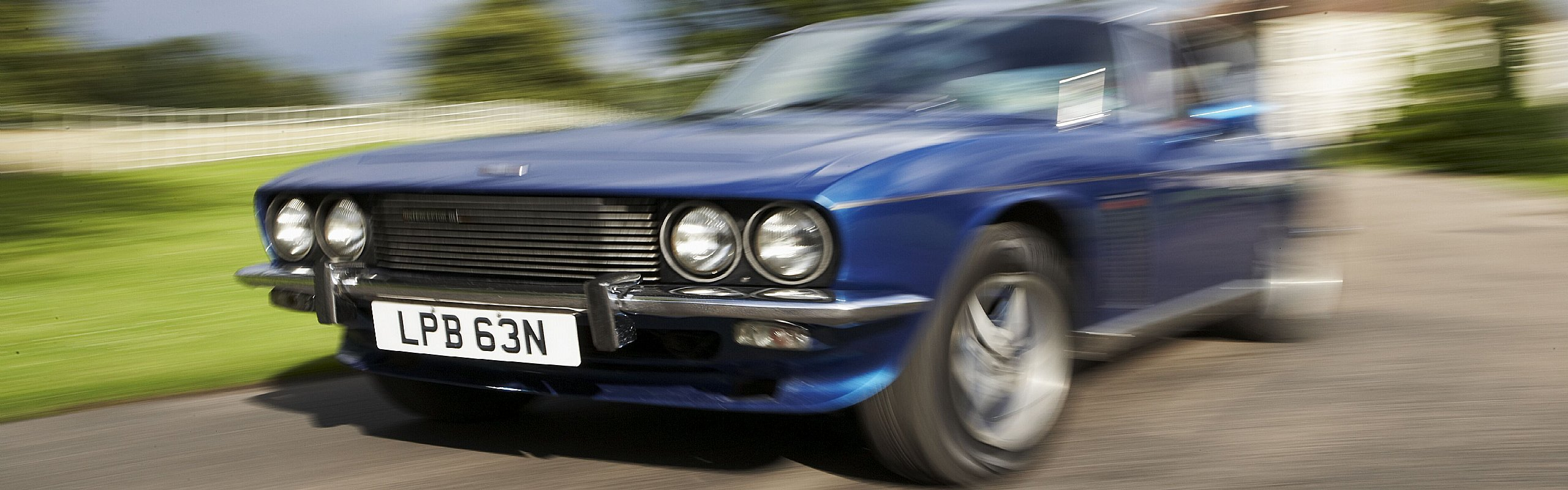 Great Escape Classic Car Hire - choice of 2 Jensen Interceptor Mk3 vehicles for rental  in the Midlands and Cotswolds, book online